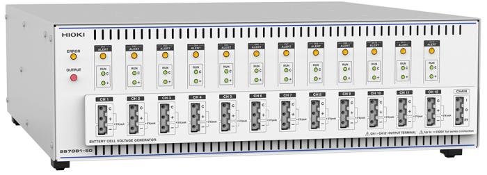 HIOKI社製バッテリセル電圧ジェネレータ