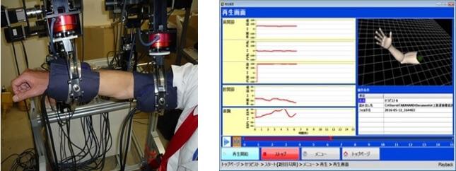 上肢運動機能訓練評価装置及び医療教育用ロボットアームの開発