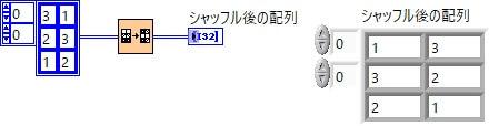 2D配列シャッフル