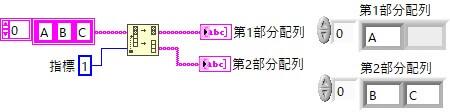 1D配列分割