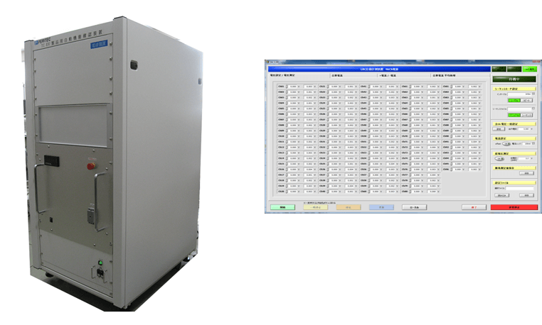 EV用電源コントローラ自動試験装置