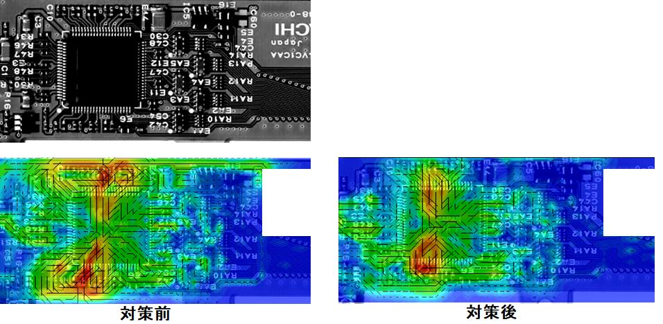 PCBの測定例