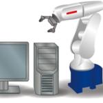 アームロボット 制御プログラム事例